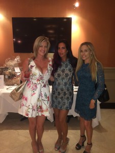 Ladies at fundraiser for Naia's Pet Rescue