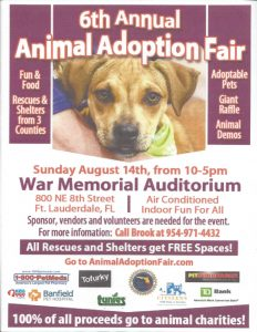 6th Annual Animal Adoption Fair