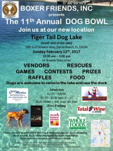 The 11th Annual Dog Bowl