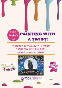 Painting with a Twist Fundraiser
