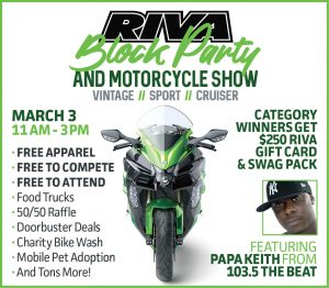 RIVA Block Party & Motorcycle Show